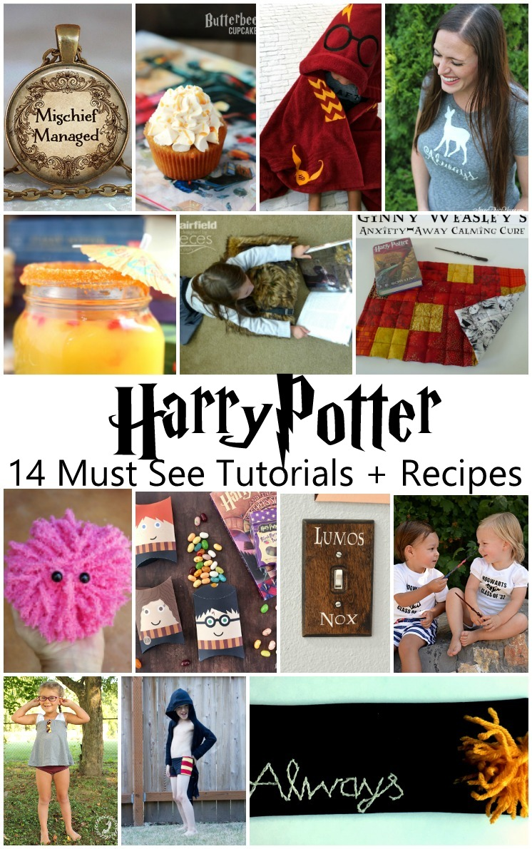 Recipes, crafts, fashion, and party ideas for celebrating Harry Potter
