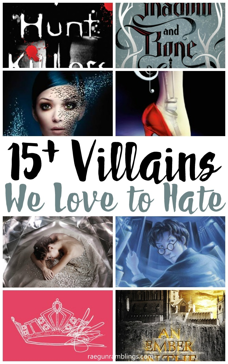Great reading list full of awesome villains that keep you on your toes. Young Adult Books