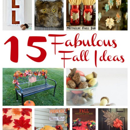 Awesome crafts and recipes to make for Fall, Thanksgiving, Halloween and more.