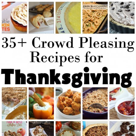 35 Thanksgiving recipes of all sorts. Traditional side dishes and even vegan meals