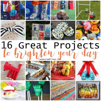 16 Projects to Brighten Your Day and Block Party