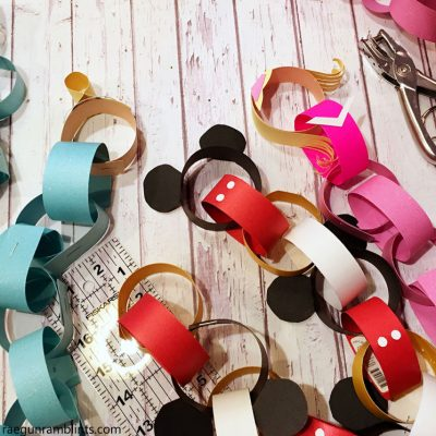 DIY Disney Princess Countdown Crafts