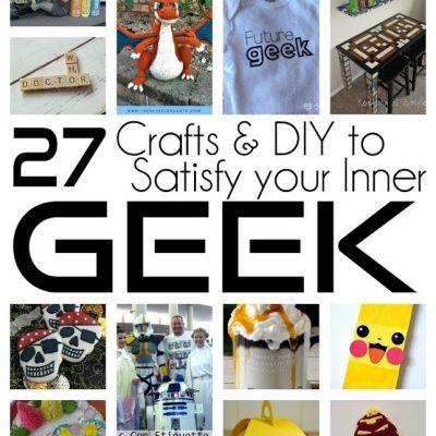 Geek Crafts DIY Tutorials and Block Party