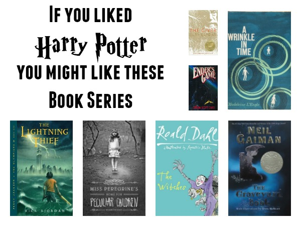 IF you Like Potter books to read after harry potter