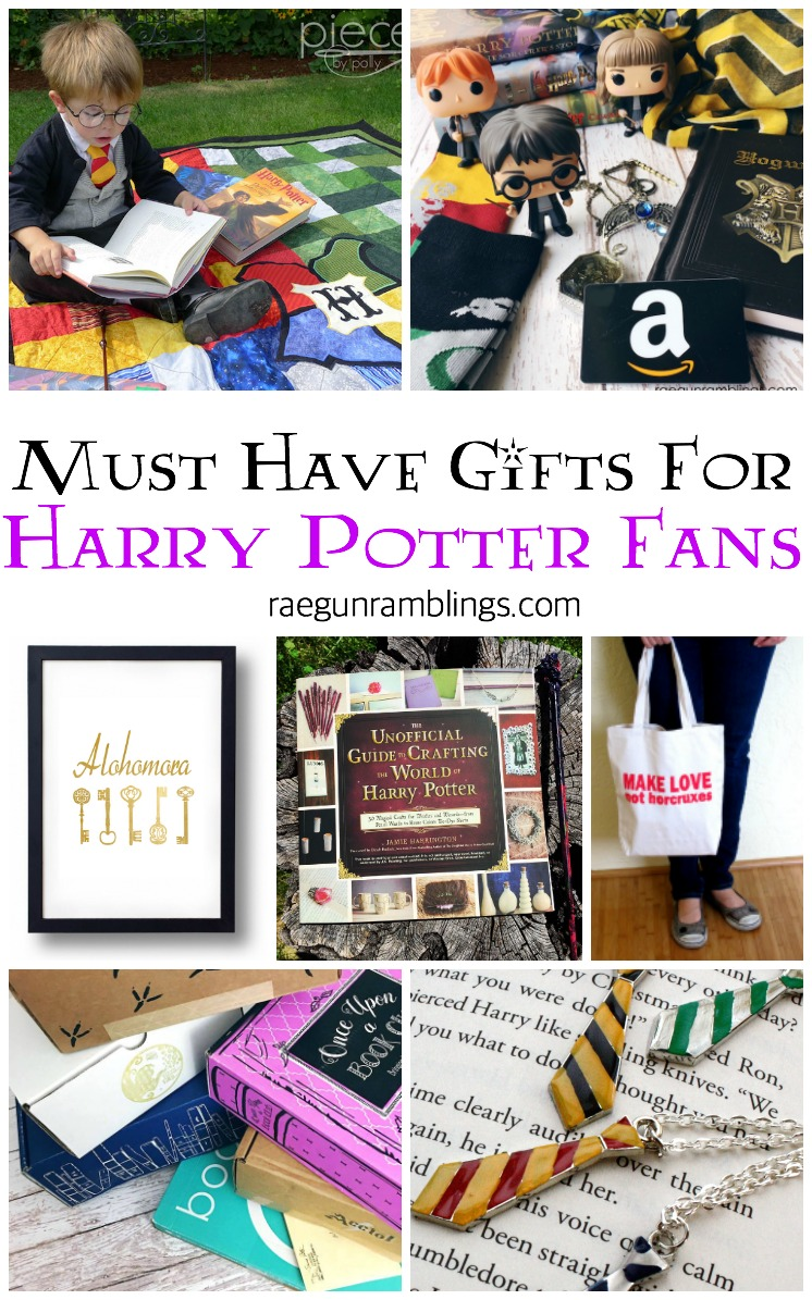 unique must have gifts harry potter fans