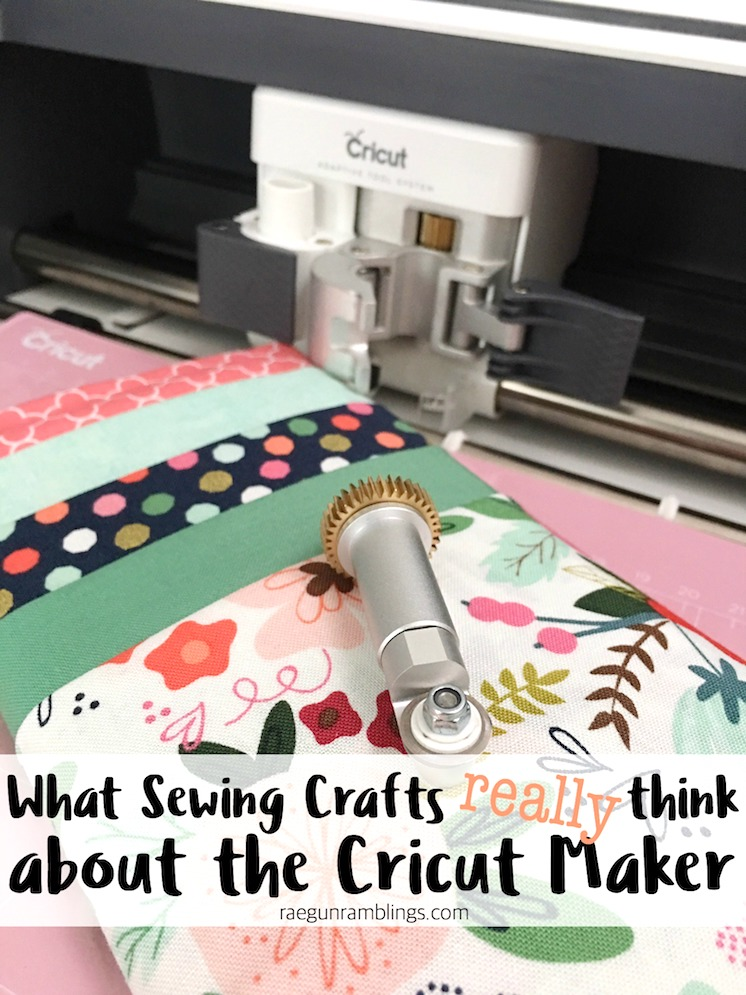 Great seeing the Cricut Maker through the eyes of a sewing crafter