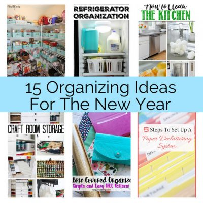 15 Clever Organizing Ideas and Block Party
