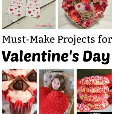 Must make Valentine's Day Crafts and Block Party