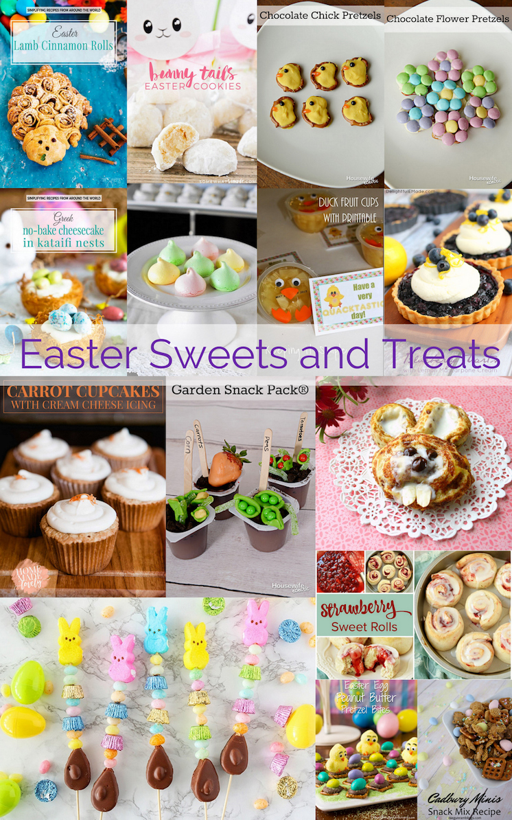 Easter-Sweets-and-Treats recipes and crafts