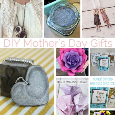 DIY Mothers Day Gifts and Block Party