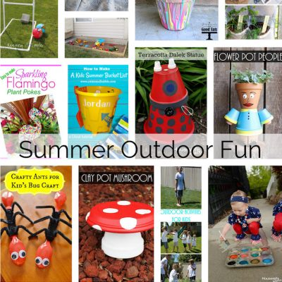 Outdoor Summer Activities for Kids and Block Party