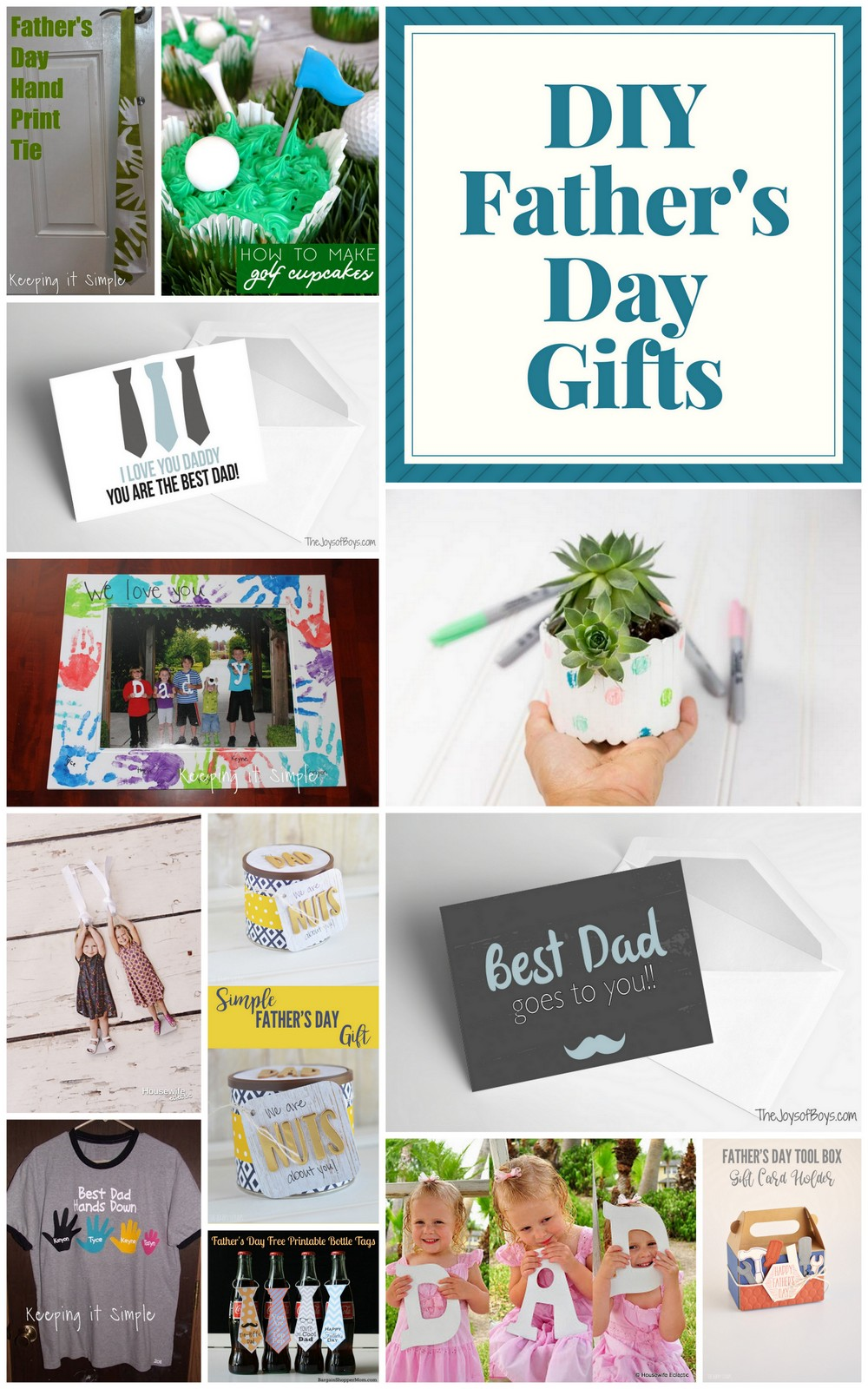 Celebrate father's day with these great DIY gift ideas