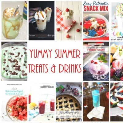 Yummy Summer Treats Drinks and Block Party