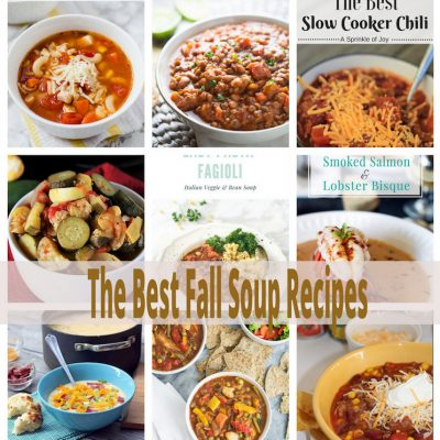 Best Fall Soup Recipes and Link Party