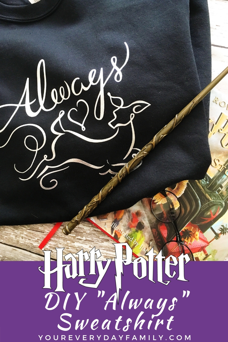 Always Harry Potter shirt tutorial and design