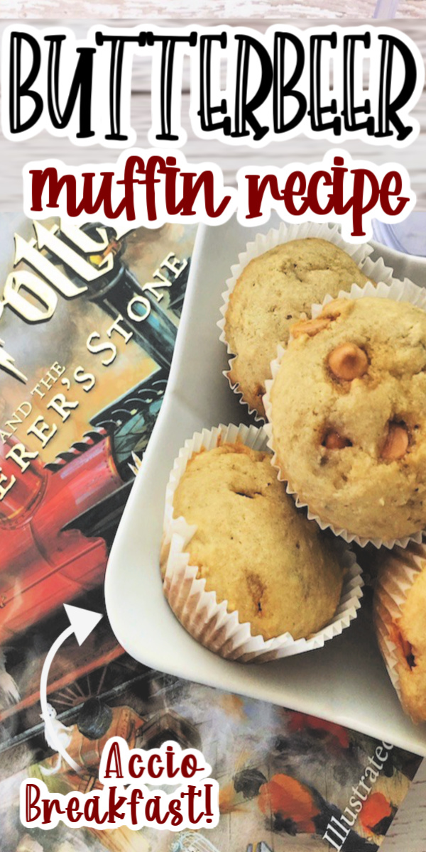 Delicious and easy Butterbeer muffin recipe perfect for breakfast or snack