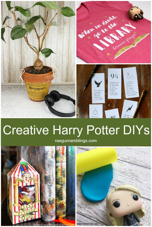 creative and unique DIY ideas including Harry Potter DIY Mandrake Playdough and printables