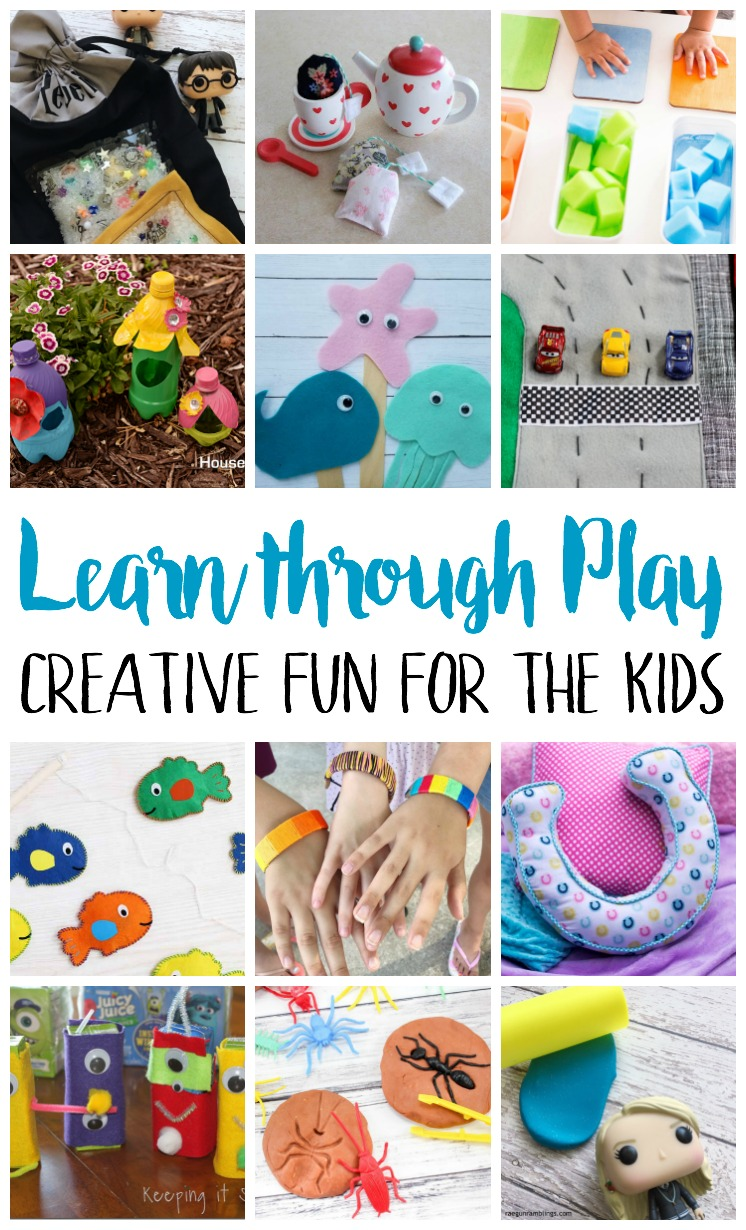 fun and educational ideas for kids. With tutorials, printables and patterns