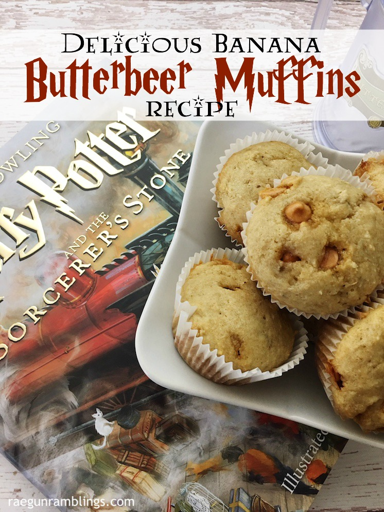 must try these super easy looking butterbeer muffins. Great Harry Potter recipe would be fun for birthday breakfast-2