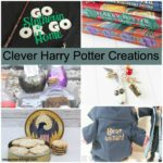 DIY Harry Potter Crafts like Magical congress of the United Staes Potions Labels and more