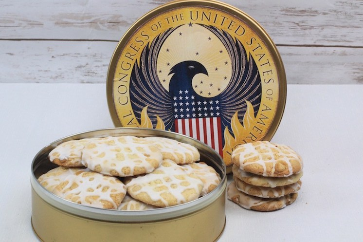 DIY Magical Congress of the United Staes of America Tin and Butterbeer coocies recipe