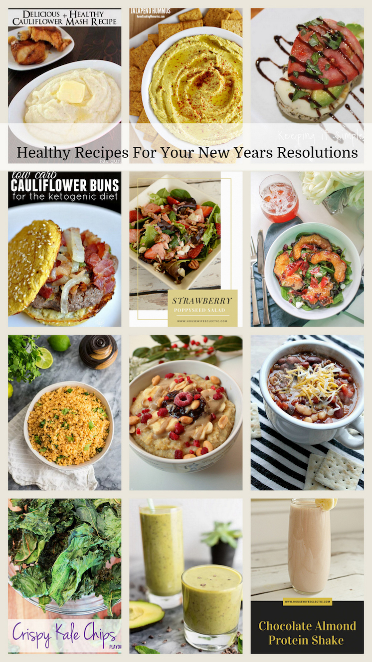 Healthy recipes perfect for keeping new years resolutions