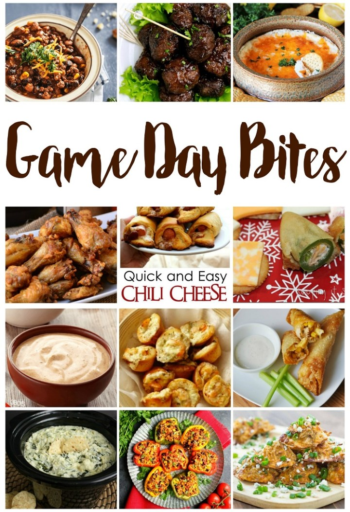 Appetizer Recipes perfect for the super bowl and tailgaiting great game day bites