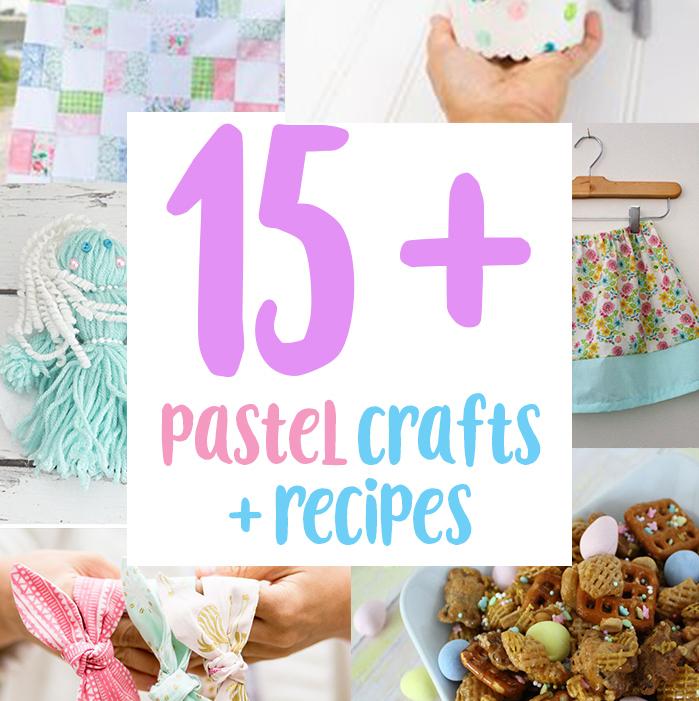 15+ pastel DIY crafts and recipes