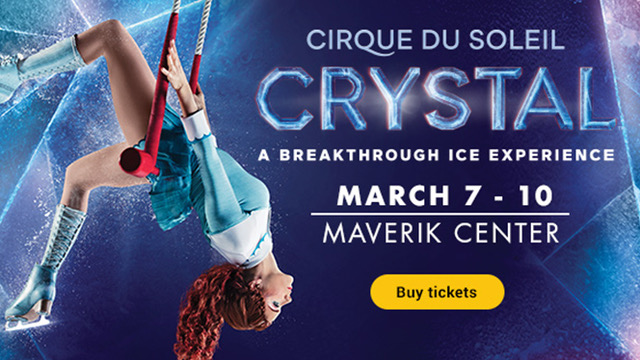 Cirque du Solei Crystal ice show
