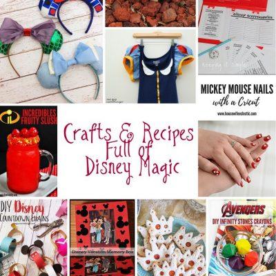 DIY Disney Crafts and Block Party