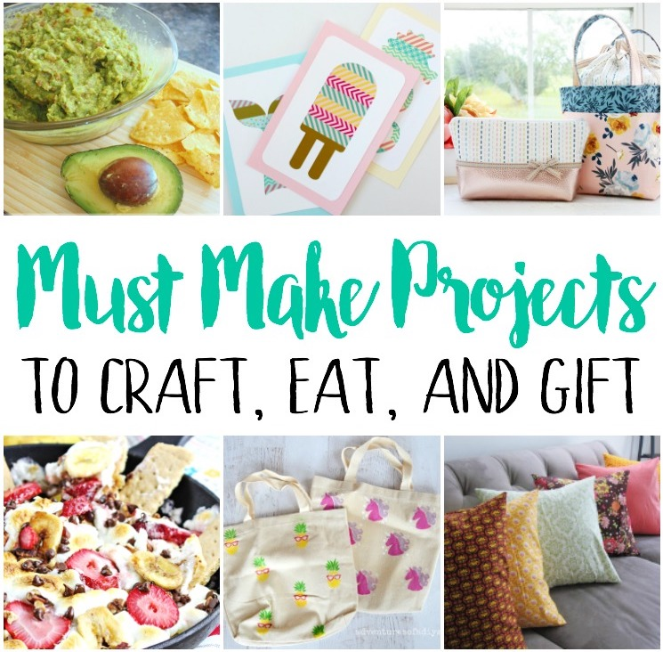 Summer crafts, recipes and diy home projects perfect for gift giving