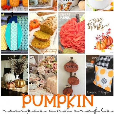 Perfectly Fall Pumpkin recipe and crafts