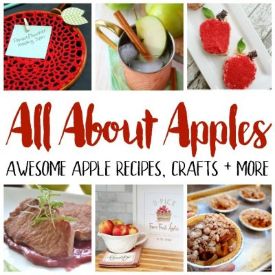 Apple Recipes Craft ideas and Block Party