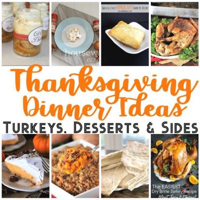 Thanksgiving Dinner Ideas Recipes and Block Party
