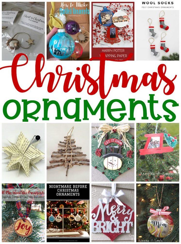 DIY Christmas Ornaments to make