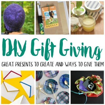 Great DIY Gifts Packaging and Block Party