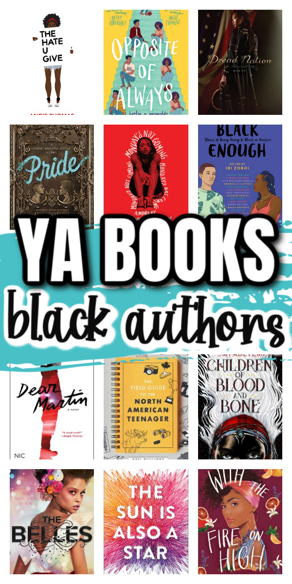 Young adult book list. Must read ya books by black authors.