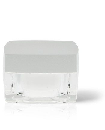 Acrylic Jar - Double Wall Square 50ml AJ-35-14-50
