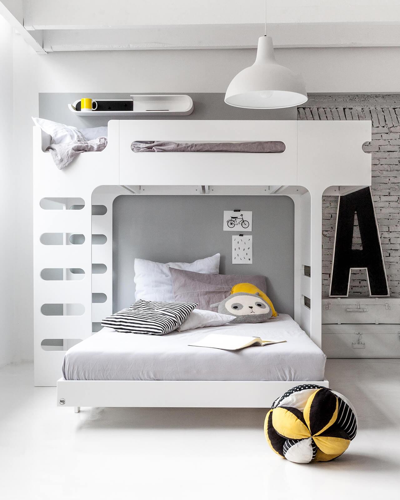 F A120 Bunk Bed For 2 Children Scandinavian Furniture Rafa Kids