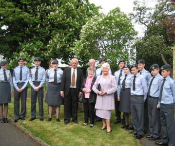 Memorial service held for Church Fenton airmen