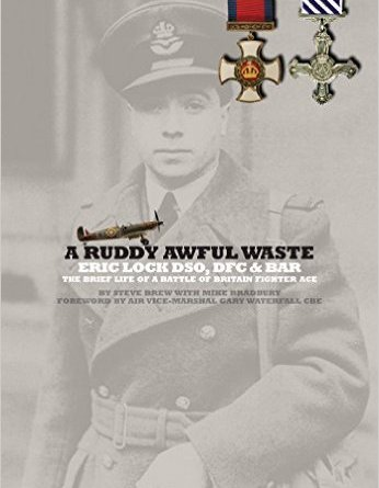 A Ruddy Awful Waste : Eric Lock DSO, DFC & Bar, the Brief Life of a Battle of Britain Fighter Ace