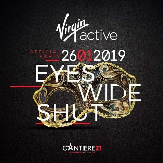 ★ CANTIERE 21 ★ Presenta: ⭐EYES WIDE SHUT – Virgin official party⭐ Raffaele Porzi DJ