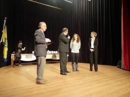 Ho partecipato a Lecco alla serata di premiazioni di Sportivamente Provincia (Lecco, 13 dicembre 2013)