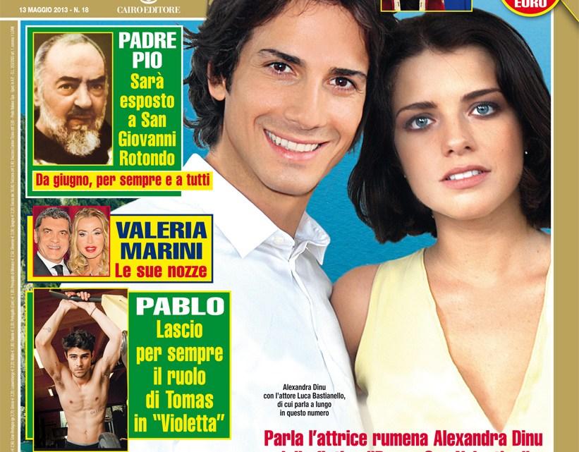 DIPIU' n. 18/2013 – Pablo Espinosa: Addio Violetta, adesso il mio sogno è recitare in Italia
