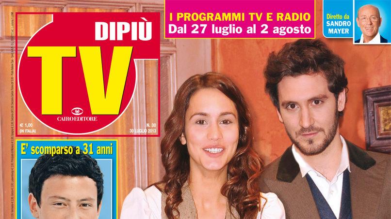"""DIPIU' TV n. 30/2013 – ALEX GADEA: """"FACCIAMO MORIRE PEPA NELL'ULTIMA PUNTATA"""""""
