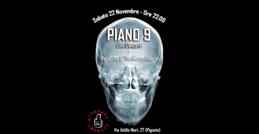 PIANO 9 – Promo Alvarado Street (22-11-2014)