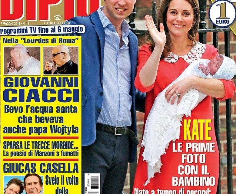 DIPIU' n. 18/2018 – Giucas Casella svela il volto della sua donna dopo 37 anni