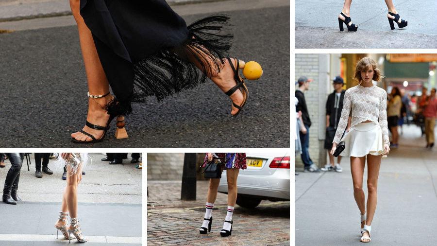 """Ecco i sandali con i tacchi più """"IN"""""""