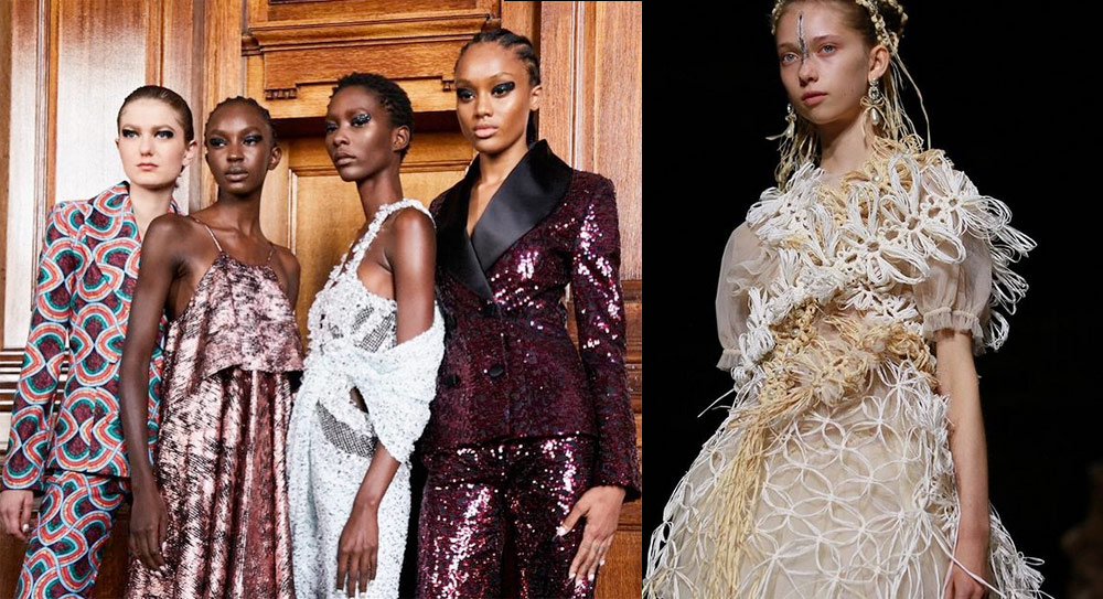 Alla London Fashion Week il make up punta sugli occhi