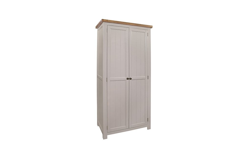 rafferty s furniture cotswold rustic pine painted grey wardrobe